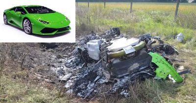 Lamborghini Crash: Hobby-Rennfahrer crasht bei 320 km/h!