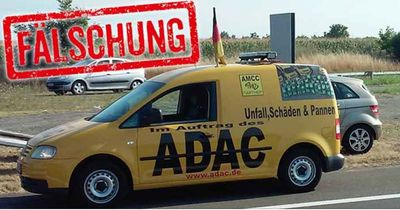 Vorsicht vor gefälschten ADAC-Autos