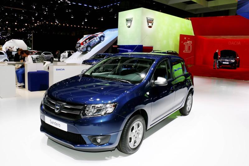 Der Dacia Sandero ist auf dem ersten Platz der günstigsten Kleinwagen.