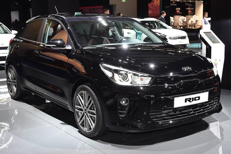 Der Kia Rio gehört zu den günstigsten Kleinwagen.