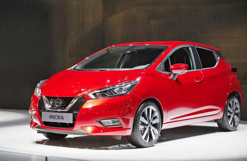 Der Nissan Micra hat niedrige monatliche Gesamtkosten.