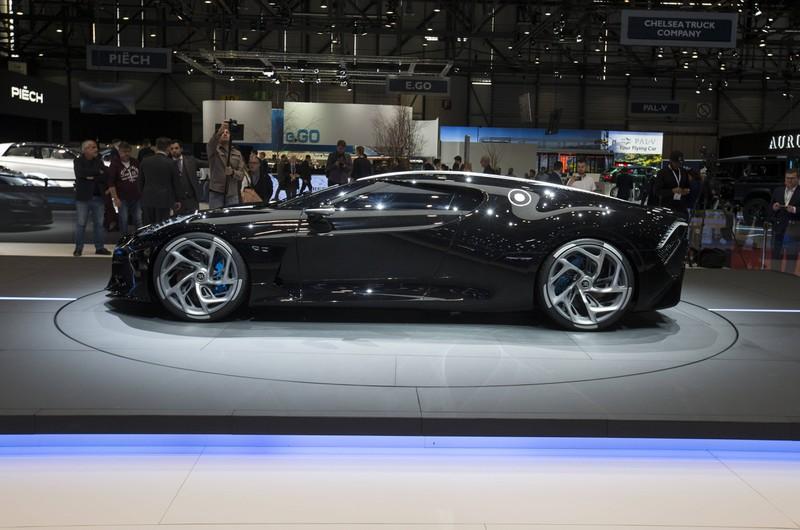 Der Bugatti La Voiture Noire ist das derzeit teuerste Auto der Welt.