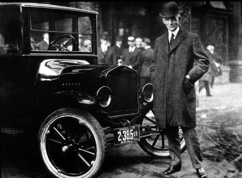 Die Idee des Wochenendes soll von Henry Ford stammen.