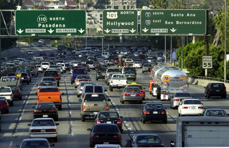 Mehr Autos als Menschen: Das zeichnet Los Angeles aus.