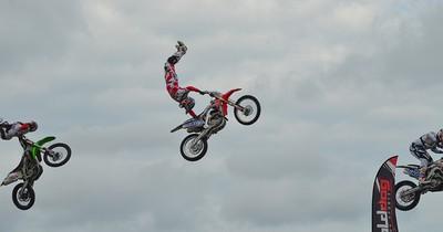 Fünf der verrücktesten Motorrad-Stunts