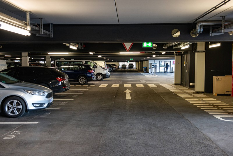 Auch durch das Holiday Parking kannst du Geld einsparen