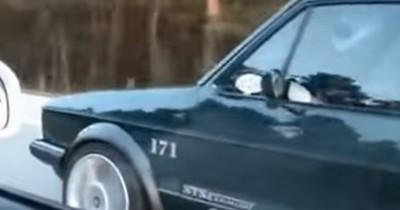 Ultimatives Battle: Getunter Golf 1 verdrängt Audi R8!