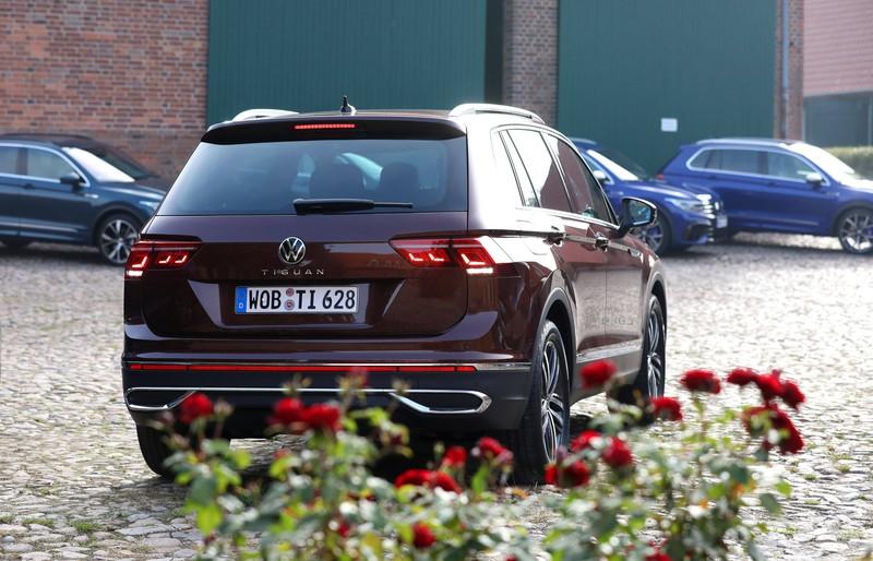 Bei den Deutschen ist der VW Tiguan auf Platz 2