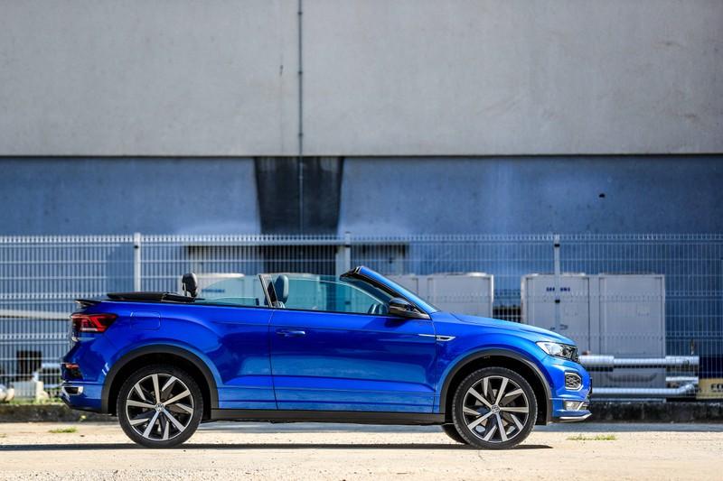 Der VW T-Roc ist auch sehr beliebt in Deutschland