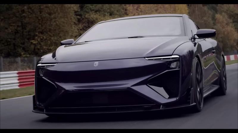 Neuer und revolutionärer Sportwagen produziert