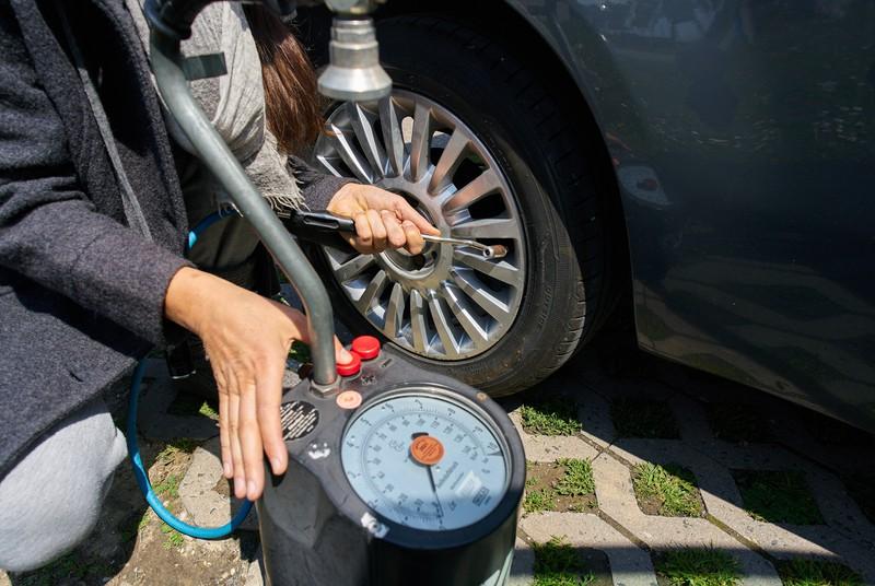 Falscher Reifendruck kann sehr gefährlich werden!