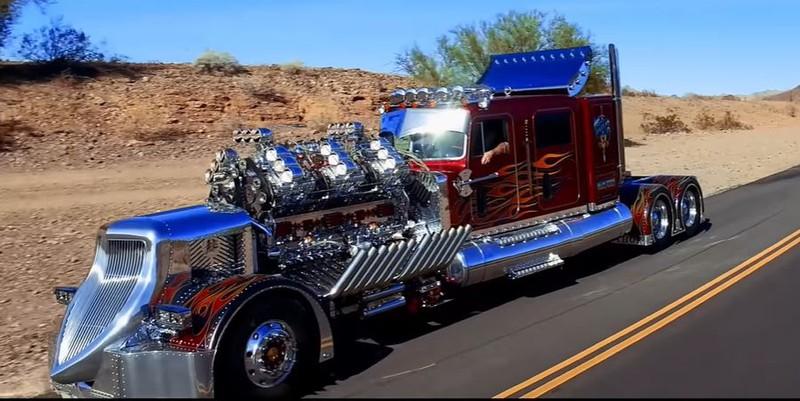 Der aufgemotzte Truck Thor hat 3974 PS und wurde vor kurzem versteigert