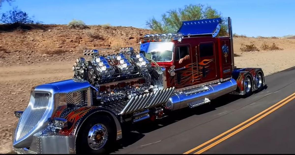 Truck mit Doppel-V12 und über 3400 PS - Ein Spielzeug für große Jungs