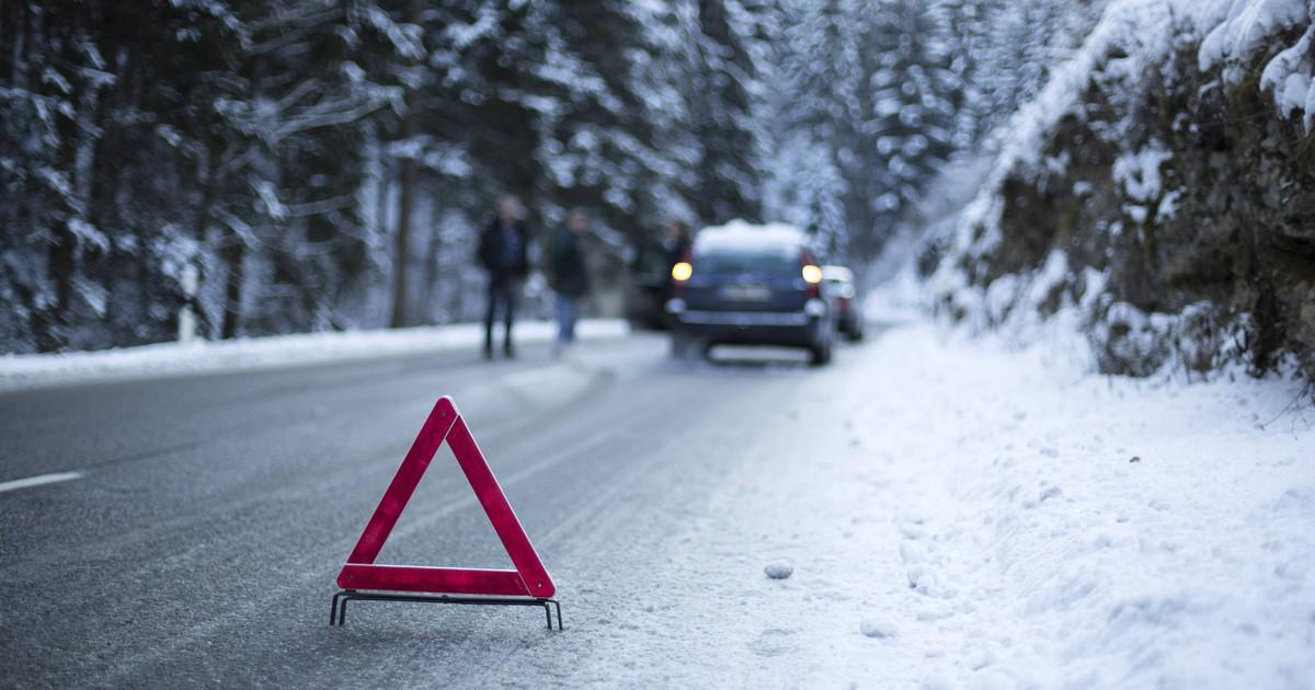Ein Auto-Fehler im Winter kann das Auto schädigen