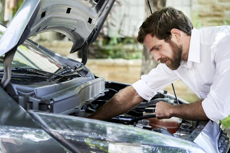 Den Motor sollte man beim Kauf unbedingt checken