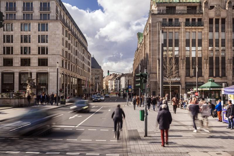 Fußgänger im Straßenverkehr