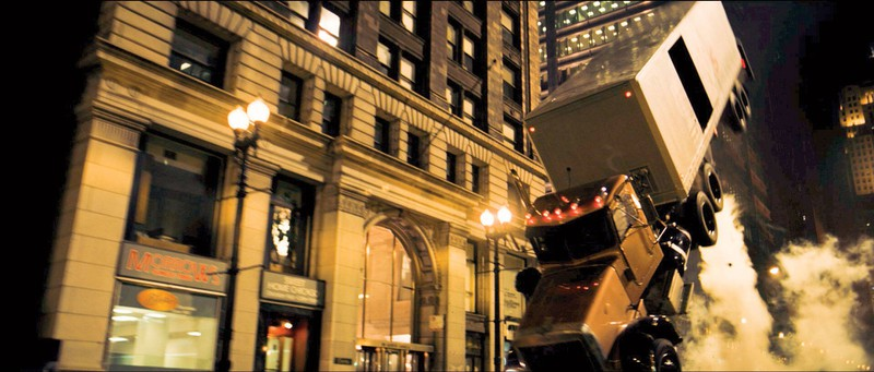 """Das Fahrzeug stammt aus """"The Dark Knight""""."""