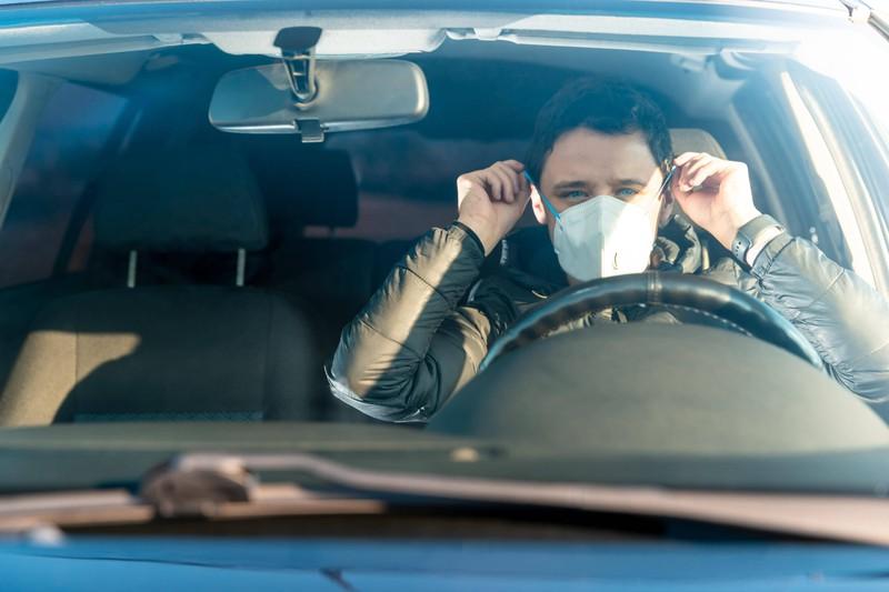 Maske Beim Autofahren Erlaubt
