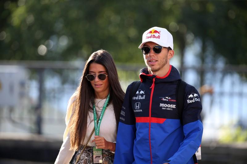 Ebenfalls ein Paar: Caterina Masetti Zannini und Pierre Gasly