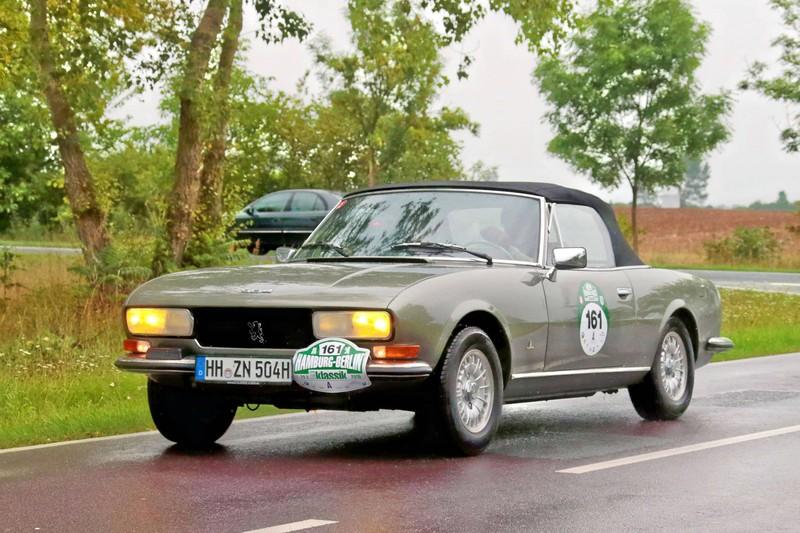 Weiter geht es mit einem Oldtimer von Peugeot